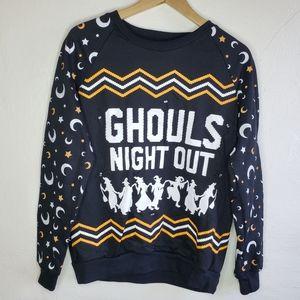 ⭐3/$20 Light up Halloween Long Sleeve Sweatshirt